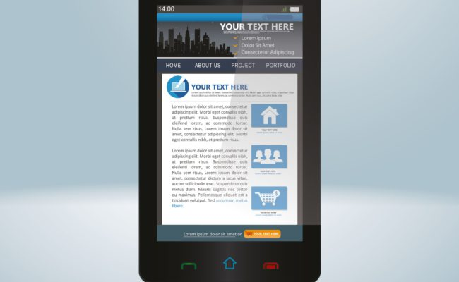 Smart Phone Web Design