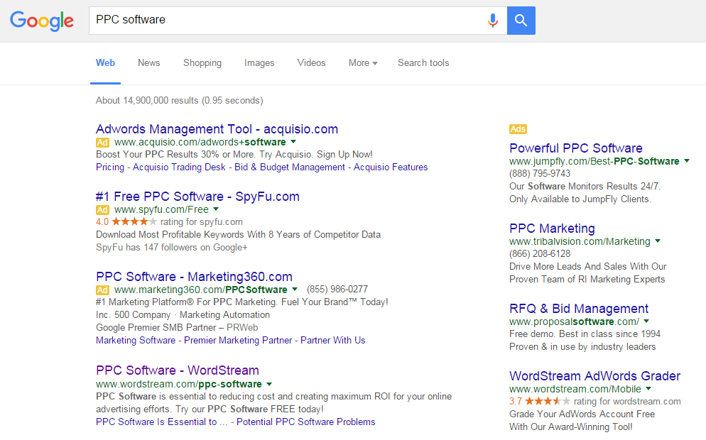 Page one of the SERP is where you want to be!